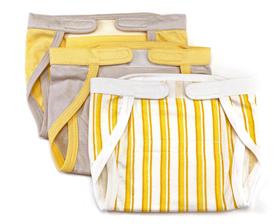 Set of 3 nappies yellow thumb