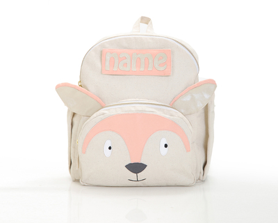 Customized foxy toddler backpack thumb