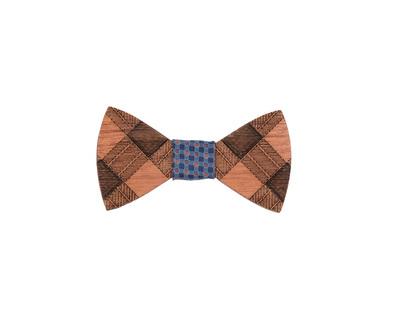 Vintage wooden bowtie thumb