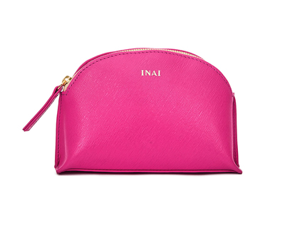 Cosmetic case hot pink thumb