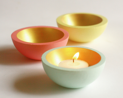 Tea light bowls set of 2 thumb