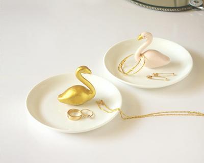 Flamingo jewellery dish thumb