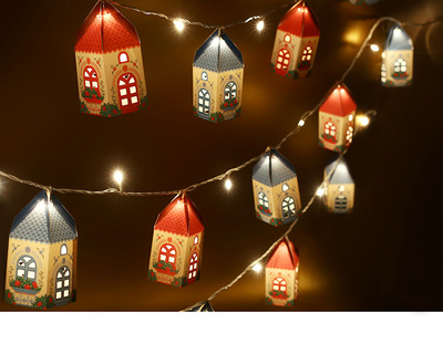 Mini happy home lamps with fairy lights set of 10 thumb