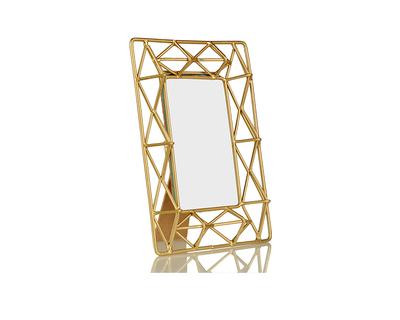 Gold pyramid photo frame thumb