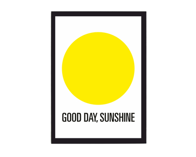 Good day sunshine poster thumb