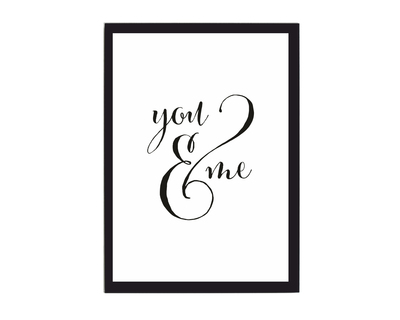 You and me poster thumb