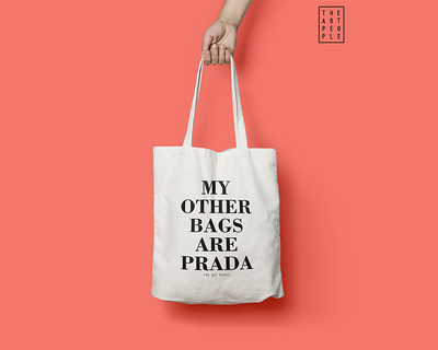 My other bags are prada tote bag thumb