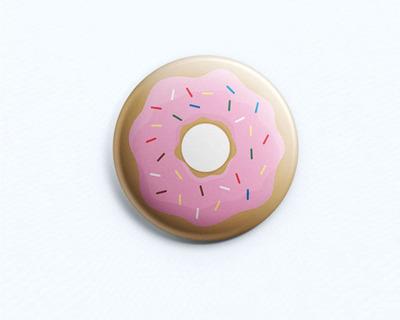 Donut badge thumb