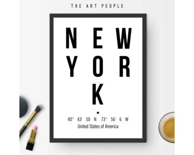 New york frame thumb