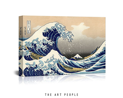 The great wave by katsushika hokusai thumb