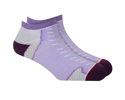 Geometric liner length unisex dry fit nylon socks thumb