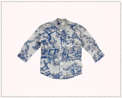 Toile print shirt thumb