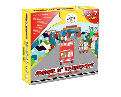Animal n transport puzzle boardgame bingo thumb