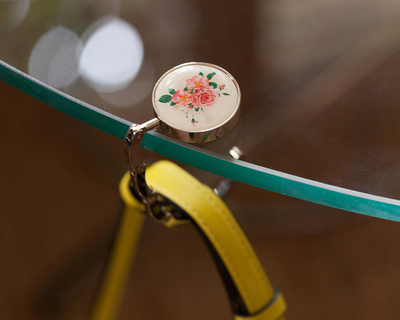 Handbag holder floral thumb