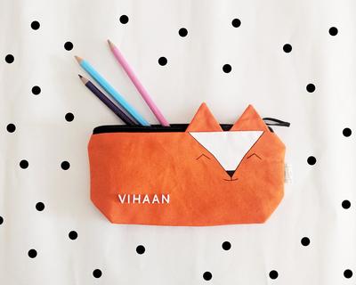 The fox pencil pouch thumb