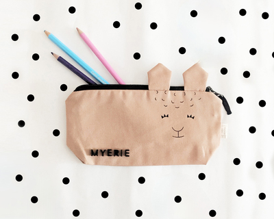 The llama pencil pouch thumb