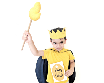 The fearless king pretend play set thumb