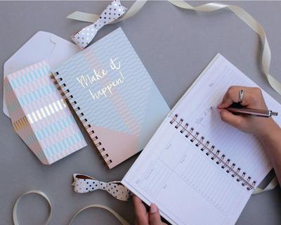 Make it happen notebook thumb