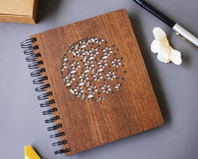 Naamat premium wooden notebook thumb