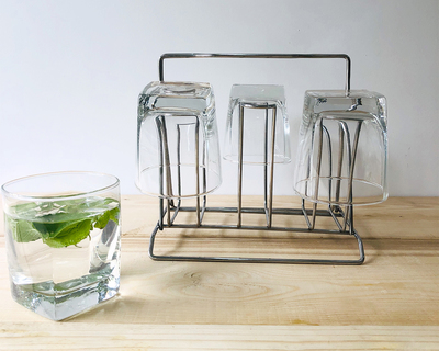Stainless steel kitchen glass stand thumb