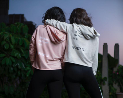 The shauna hoodie light pink thumb