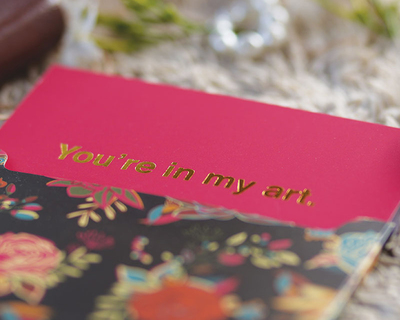 You re in my art greeting card thumb