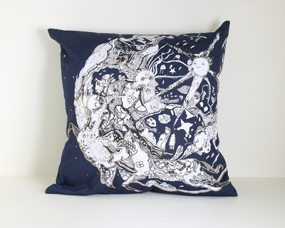 Mystic world cushion cover thumb