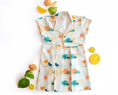 Citrus shirt dress thumb