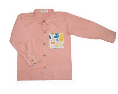 Apricot formal shirt thumb