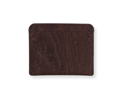 Reilly card case brown thumb