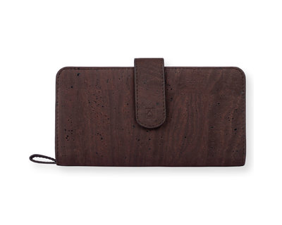 Kim clutch wallet brown blue thumb