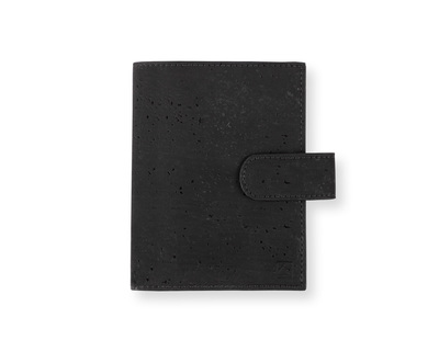 Cedar passport wallet black natural thumb