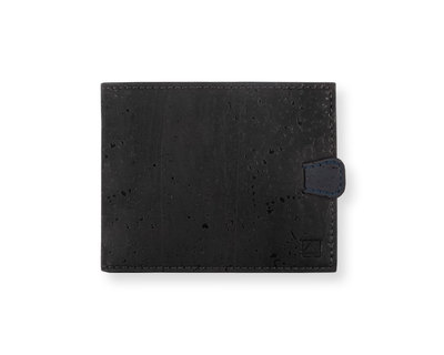 Arden minimal wallet black blue thumb