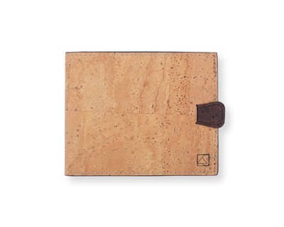 Arden minimal wallet natural brown thumb