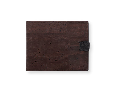 Arden minimal wallet brown black thumb
