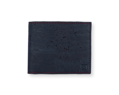 Gale men s slimfold wallet blue brown thumb