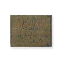 Clove slim coin wallet olive small