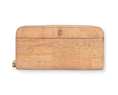 Willow zip around wristlet natural thumb