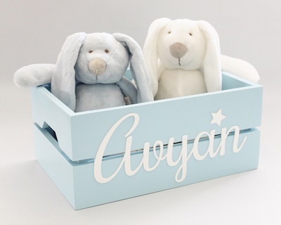 Personalized name box blue thumb
