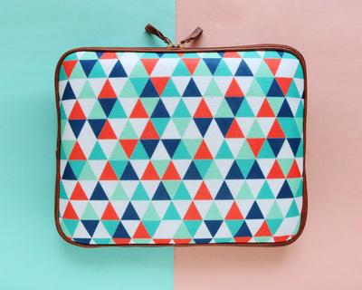 Triangles laptop sleeve thumb