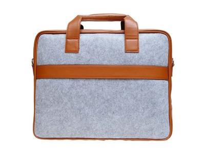 Grey laptop bag thumb