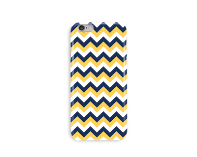 Yellow chevron phone case thumb