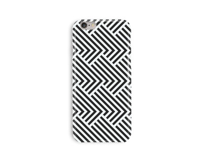 Monochrome maze iphone 6 6s case thumb