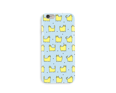Kitty time phone case thumb