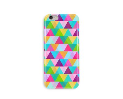 Color triangle phone case thumb