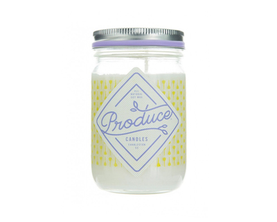 Produce candle wildflower thumb