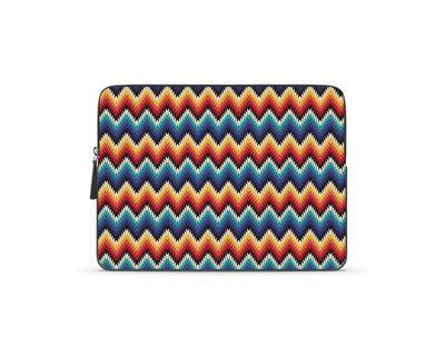 Dizzy waves laptop sleeve thumb