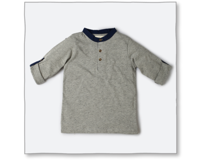 Urchin tee grey thumb