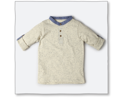 Urchin tee light grey thumb