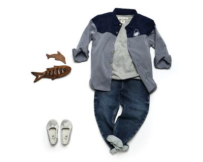 Boy s abyss shirt navy thumb